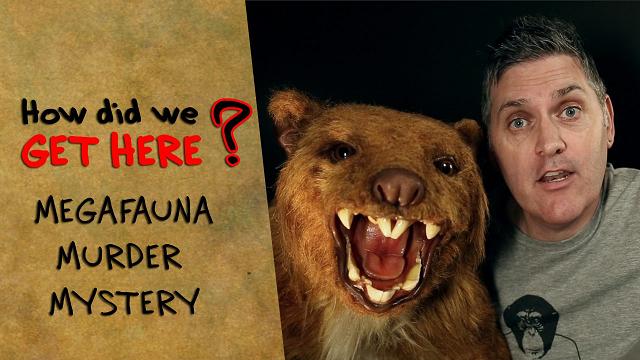 How did we get here: Megafauna murder mystery