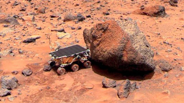 All eyes on Mars