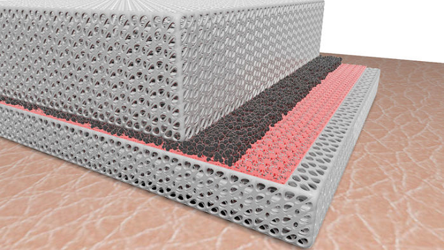 Reversible fabric keeps you warm or cool on demand