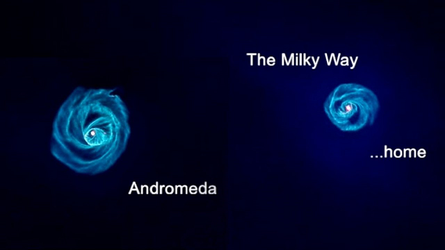 Andromeda discoveries