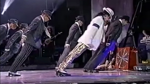 Michael Jackson's dance lean explained using Forces
