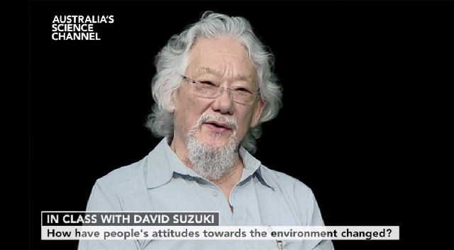 In Class With…David Suzuki