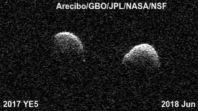 YE5! Single asteroid is actually two locked in an astronomical embrace