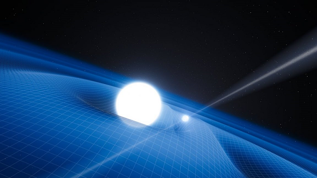 Einstein's Feather is a Neutron Star