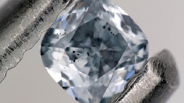 Super rare blue diamonds are a geologist's best friend