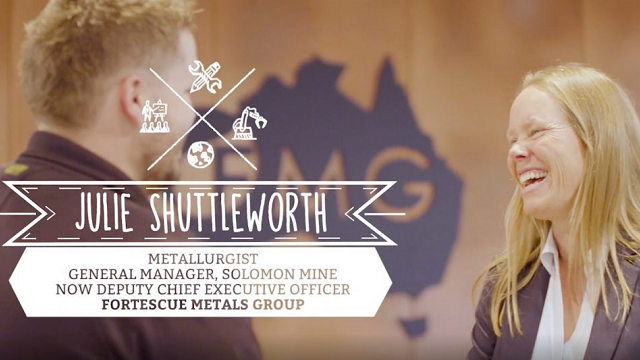 Julie Shuttleworth – Metallurgist & General Manager