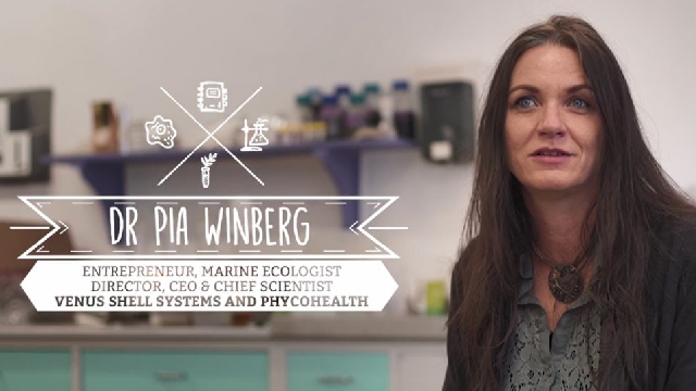 Dr Pia Winberg – Marine Ecologist & Entrepreneur