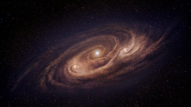Cosmic monster churns out new stars