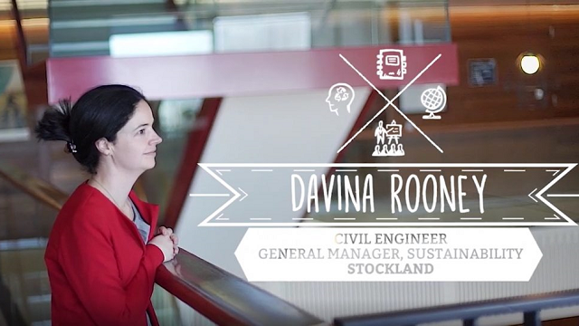 Davina Rooney – Civil Engineer & Sustainability Manager