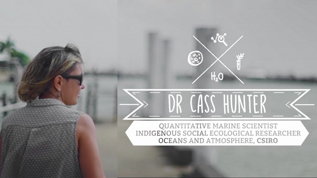 Dr Cass Hunter – Quantitative Marine Scientist