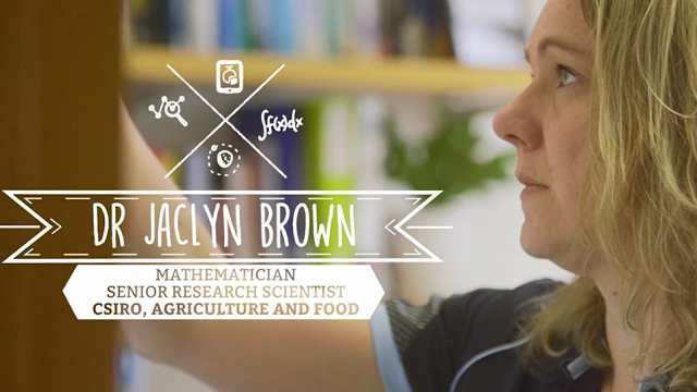 Dr Jaclyn Brown – Mathematician & Digital Agriculture Research