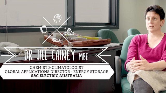 Dr Jill Cainey – Climatologist & Energy Storage Expert