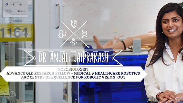 Dr Anjali Jaiprakash – Robobiologist