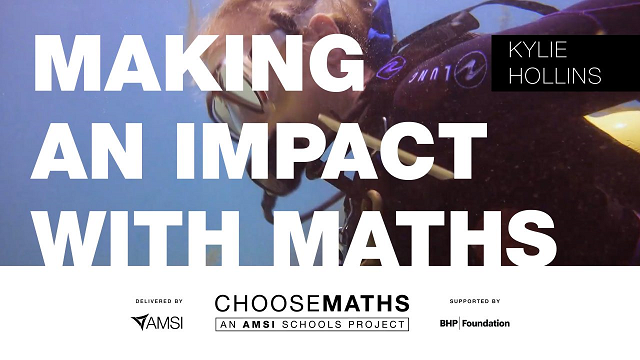 Making an Impact with Maths – Kylie Hollins