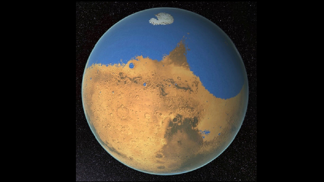 New water cycle discovered on Mars