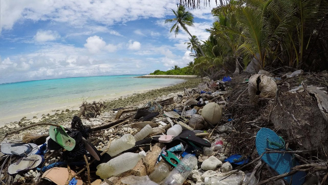 Plastic waste has trashed one of Australia's most remote islands