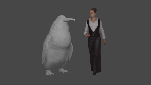 Now that's a penguin