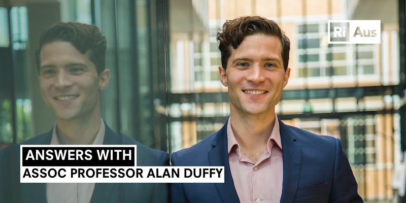 Answers With… Assoc Prof Alan Duffy