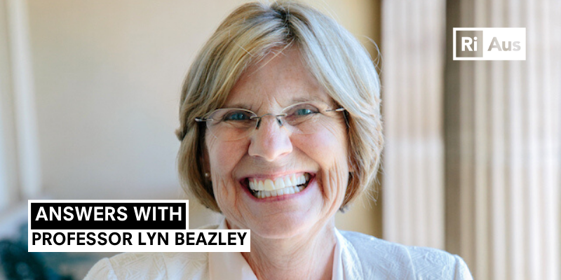 Answers With… Professor Lyn Beazley