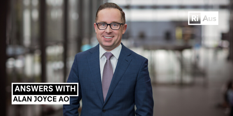 Answers With… Alan Joyce