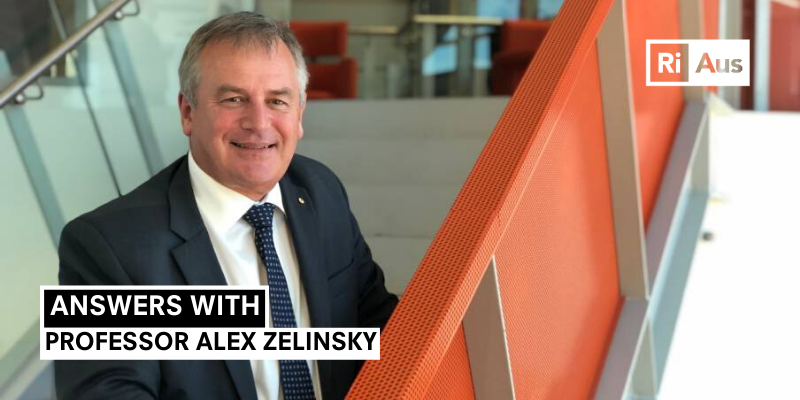 Answers With… Professor Alex Zelinsky