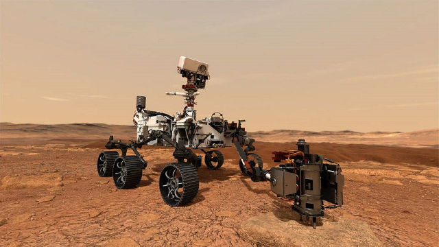Mars rover's methods for finding signs of life given Flinders Ranges test