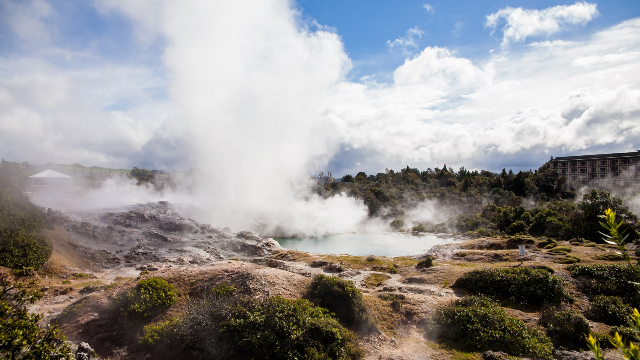 'When chemistry became biology': looking for the origins of life in hot springs