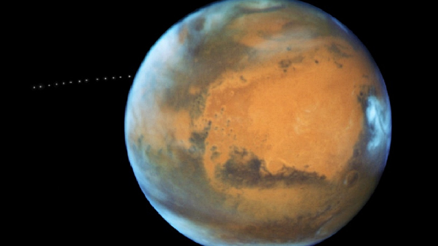 Did Mars have rings? Will it again?