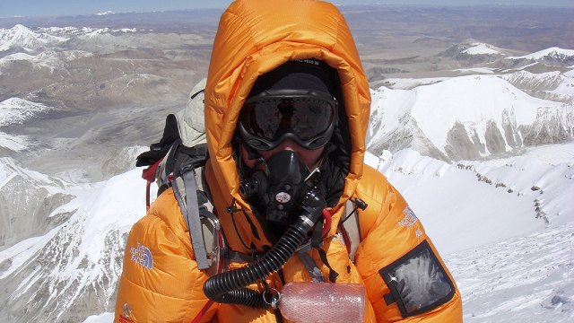 What climbing some of the world's highest mountains taught heart researcher Nikki Bart