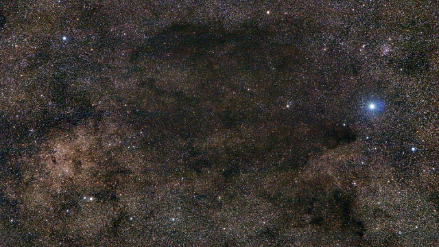 Indigenous Australians use astronomy, such as this emu constellation, to identify ecological patterns.