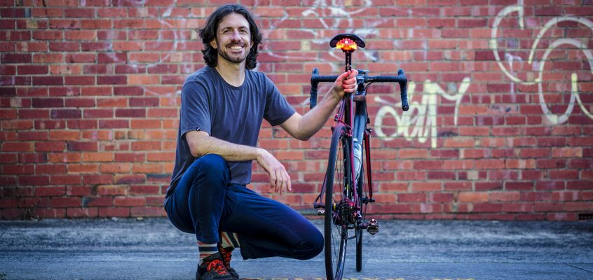 Lighting the way to cyclist safety
