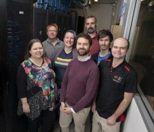 Team working on AstroQuest