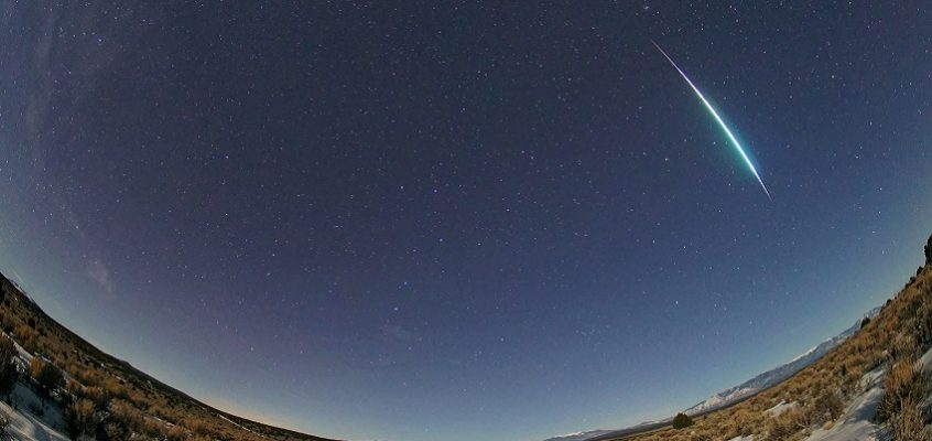 Look up for meteor showers in 2021
