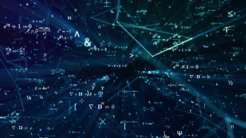 Mathematics, conceptual illustration.