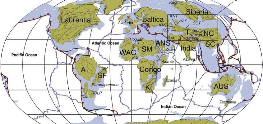 Tectonic timelapse
