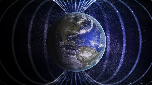 What happens when the Earth's magnetic field breaks down?