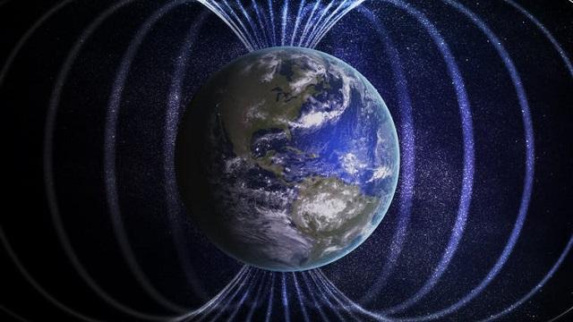 What happens when the Earth's magnetic field breaks down?