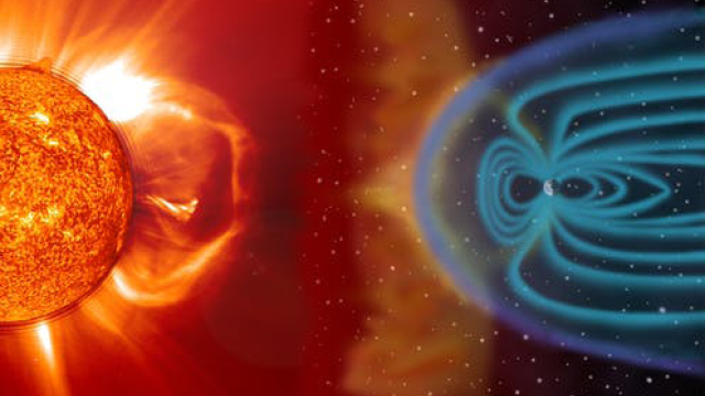Climate explained: how particles ejected from the Sun affect Earth's climate