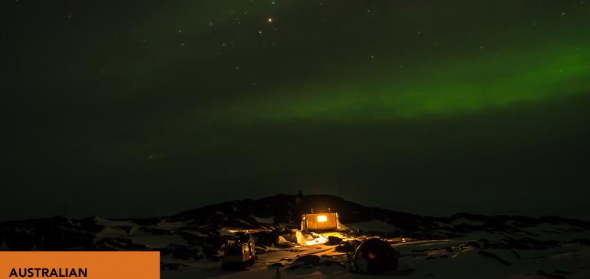 Antarctica: Twilight zone