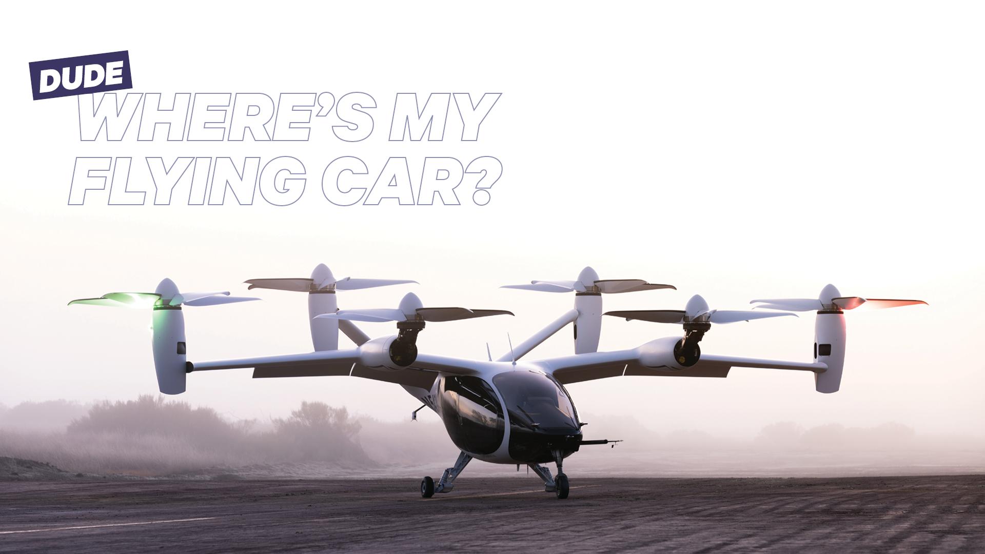 Joby Aviation flying car