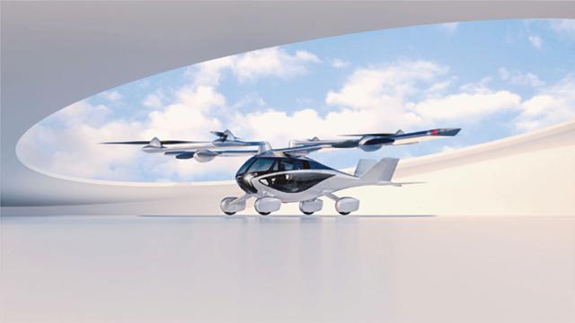SKA's flying car