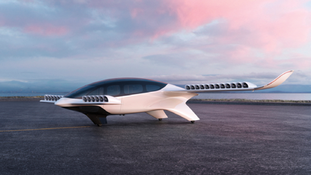 Lilium's seven seater flying car