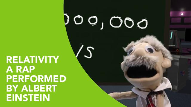 Relativity – A Rap Performed by Albert Einstein