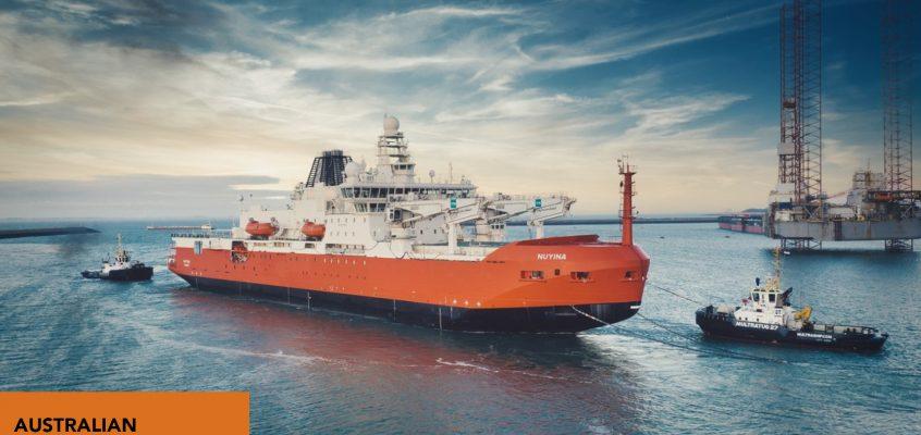Australia's new icebreaker is on its way home